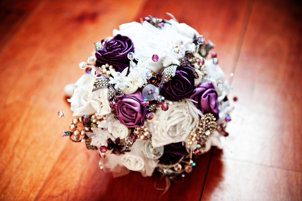 purple-ivory-brooch-bouquet-unique-wedding-flowers.original